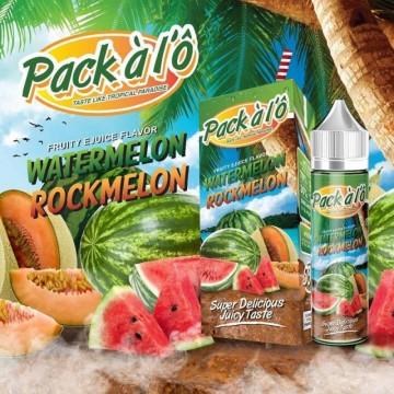 Watermelon Rockmelon 50ML - Pack à l'Ô